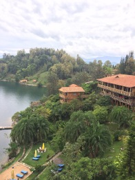 """Treat yo self"" cabin-ing at Lake Kivu"
