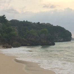 Benign beach