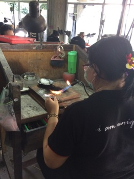 Silver jewelry factory