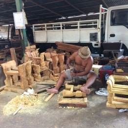 Making the wooden frame