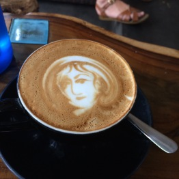 I had a favorite coffee shop, and the owner would always make great pictures in my coffee!