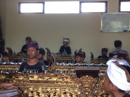 Children gamelan ensemble