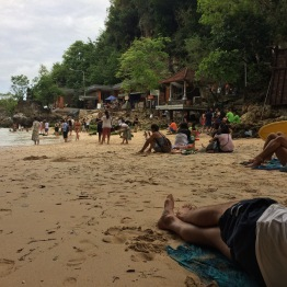 "And the ugly beach from ""Eat, Pray, Love"""