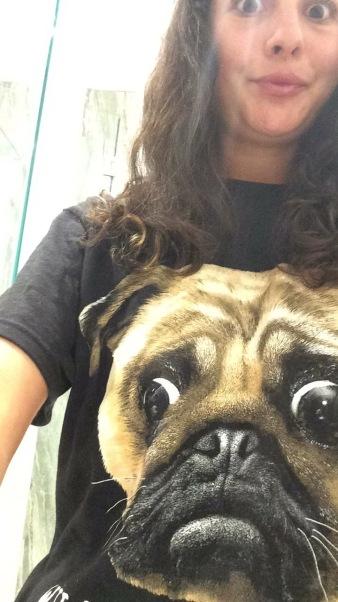 Mom brought me a pug shirt